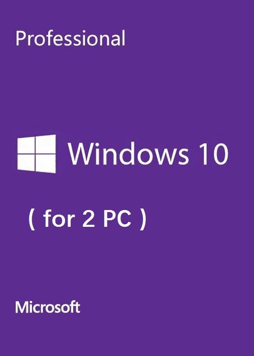 Microsoft Windows 10 Pro OEM CD-KEY GLOBAL(2 PC)