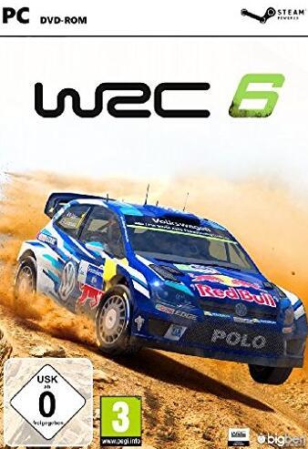 WRC 6 FIA World Rally Championship Steam CD Key