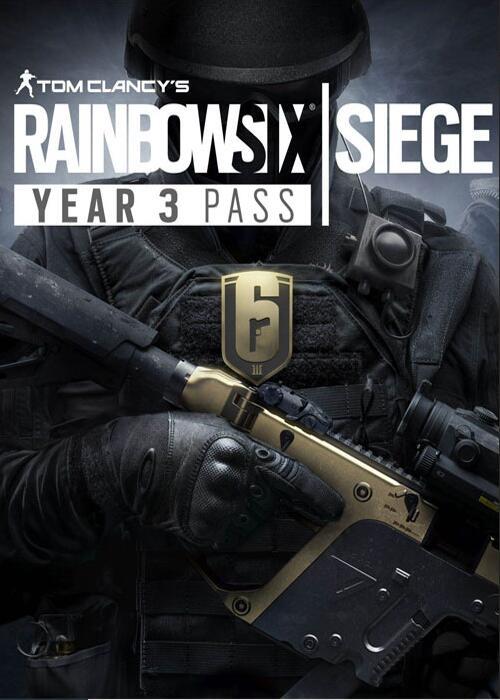 Tom Clancy's Rainbow Six Siege Year 3 Pass DLC UPLAY CD KEY GLOBAL