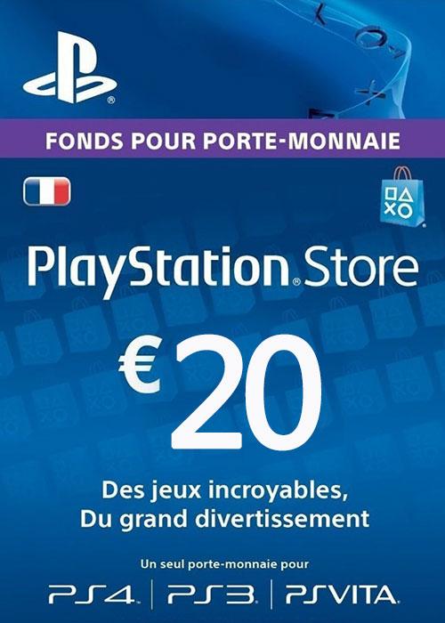 Play Station Network 20 EUR FR