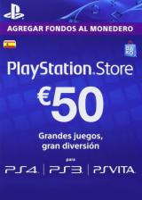 Official Play Station Network 50 EUR ES/SPAIN
