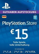 Official Play Station Network 15 EUR DE