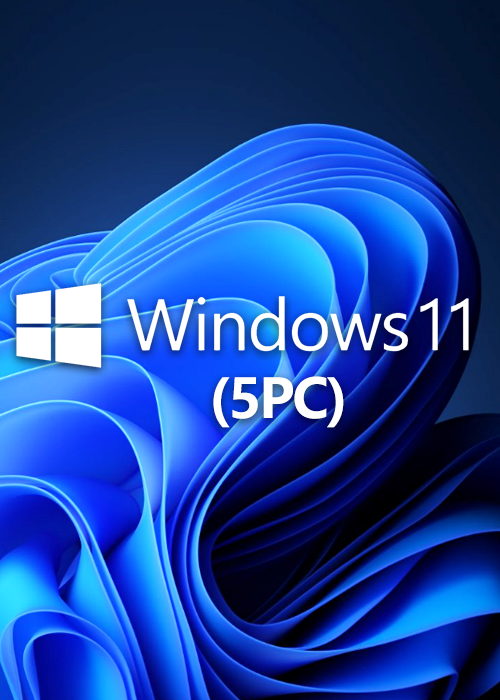 Microsoft Windows 11 Pro OEM CD-KEY GLOBAL(5PC)